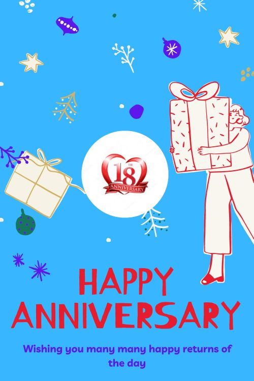 18th Wedding Anniversary Wishes Messages quotes 2