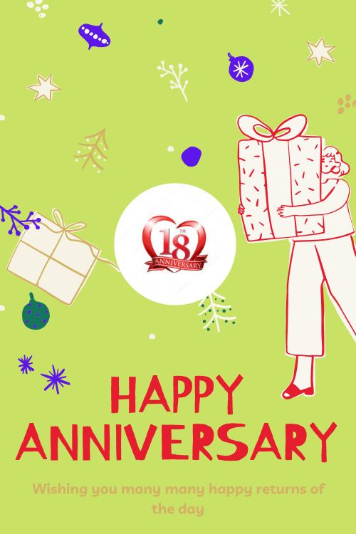 18th Wedding Anniversary Wishes Messages quotes 4
