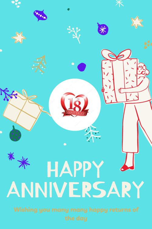 18th Wedding Anniversary Wishes Messages quotes 5