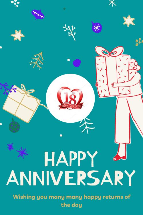 18th Wedding Anniversary Wishes Messages quotes 8