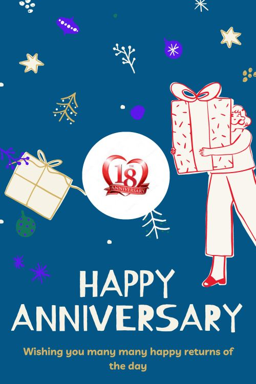 18th Wedding Anniversary Wishes Messages quotes 9