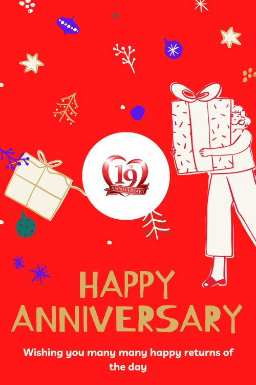 19th Wedding Anniversary Wishes Messages quotes 10