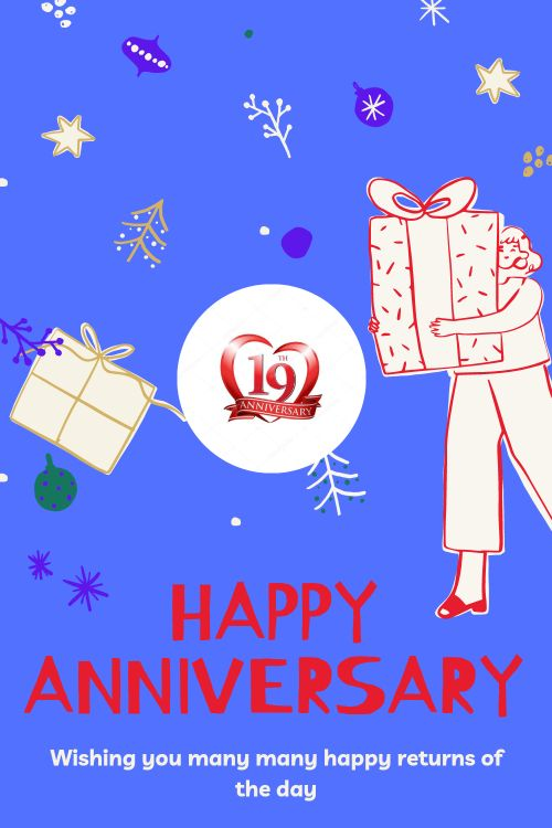 19th Wedding Anniversary Wishes Messages quotes 3