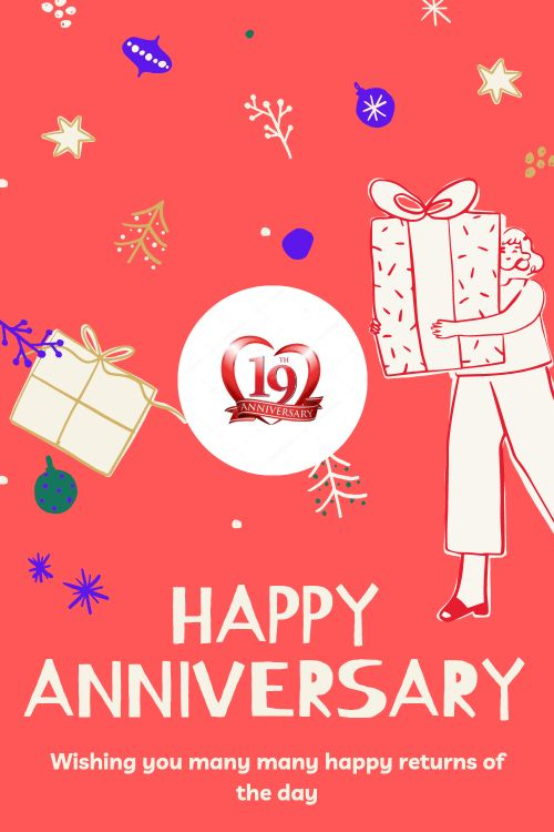 19th Wedding Anniversary Wishes Messages quotes 5