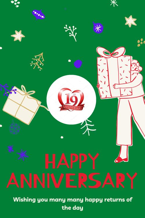 19th Wedding Anniversary Wishes Messages quotes 8