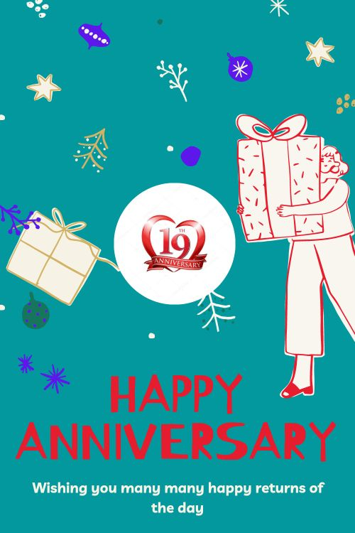 19th Wedding Anniversary Wishes Messages quotes 9