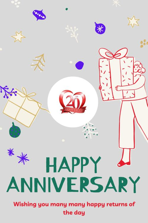 20th Wedding Anniversary Wishes Messages quotes 1