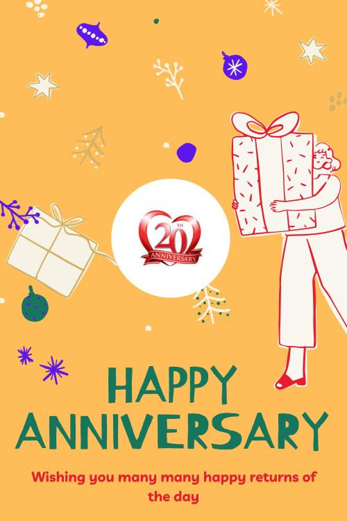 20th Wedding Anniversary Wishes Messages quotes 2