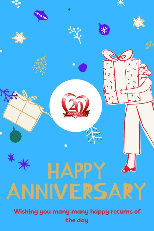 20th Wedding Anniversary Wishes Messages quotes 3
