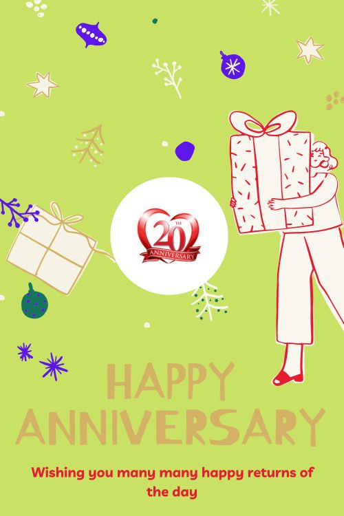 20th Wedding Anniversary Wishes Messages quotes 5