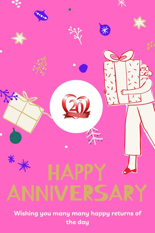 20th Wedding Anniversary Wishes Messages quotes 7