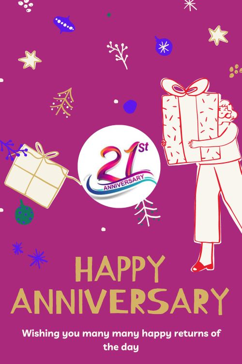 21th Wedding Anniversary Wishes Messages quotes 10