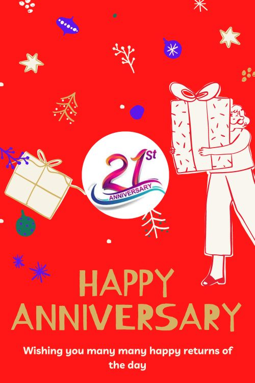 21th Wedding Anniversary Wishes Messages quotes 2