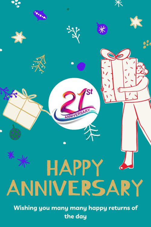 21th Wedding Anniversary Wishes Messages quotes 3