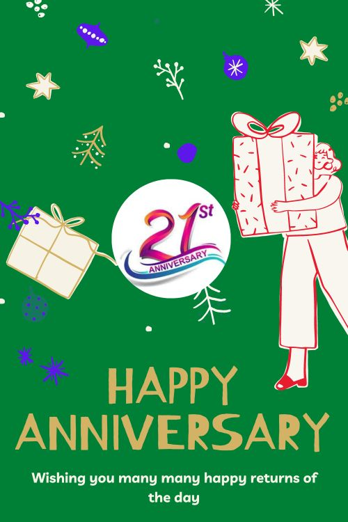 21th Wedding Anniversary Wishes Messages quotes 4