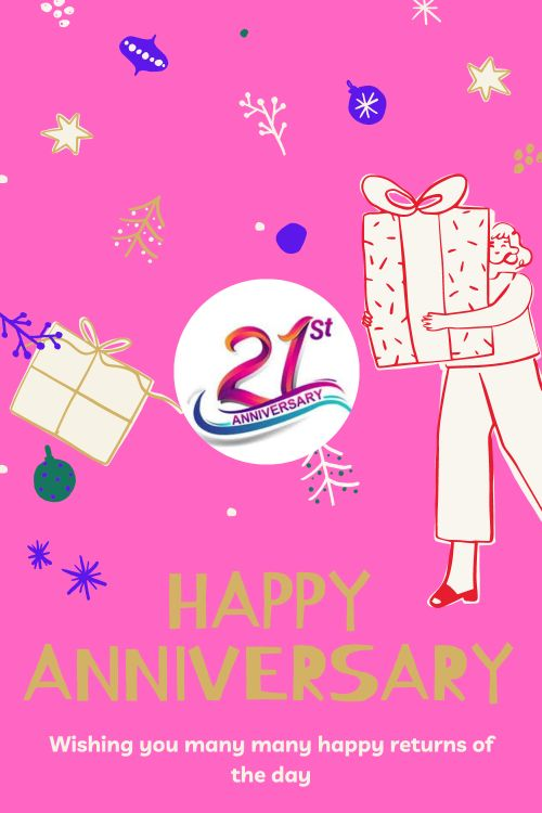 21th Wedding Anniversary Wishes Messages quotes 5