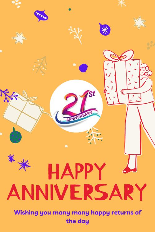 21th Wedding Anniversary Wishes Messages quotes 8
