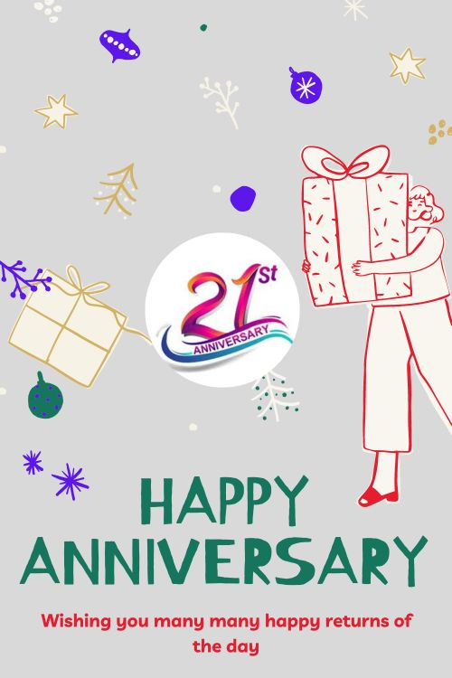 21th Wedding Anniversary Wishes Messages quotes