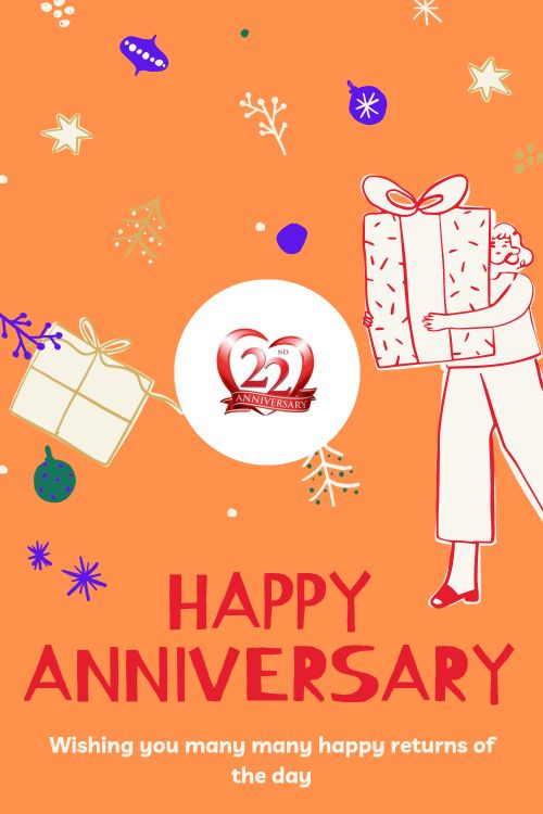 22th Wedding Anniversary Wishes Messages quotes 1