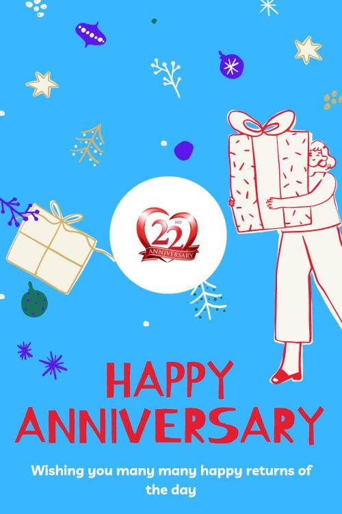 22th Wedding Anniversary Wishes Messages quotes 10