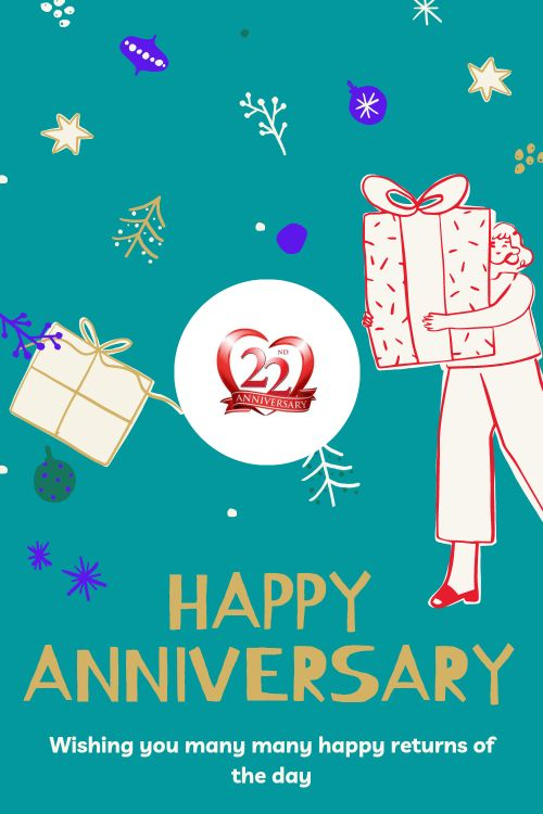 22th Wedding Anniversary Wishes Messages quotes 4