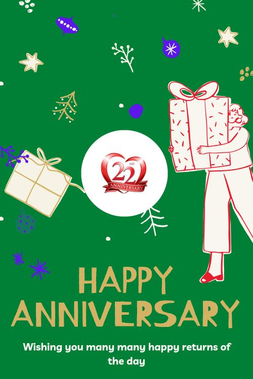 22th Wedding Anniversary Wishes Messages quotes 5