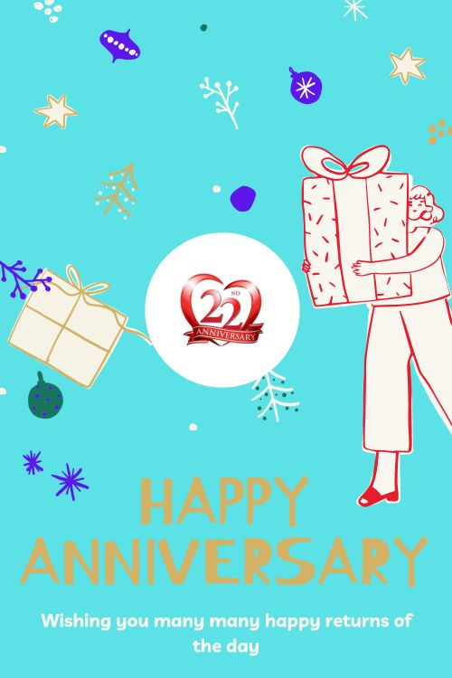 22th Wedding Anniversary Wishes Messages quotes 7