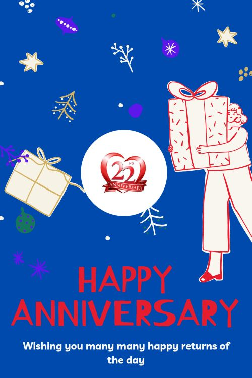 22th Wedding Anniversary Wishes Messages quotes 9