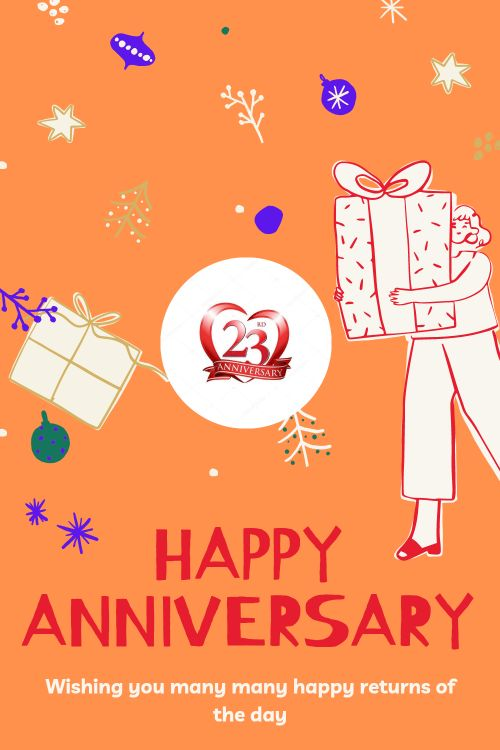 23th Wedding Anniversary Wishes Messages quotes 1