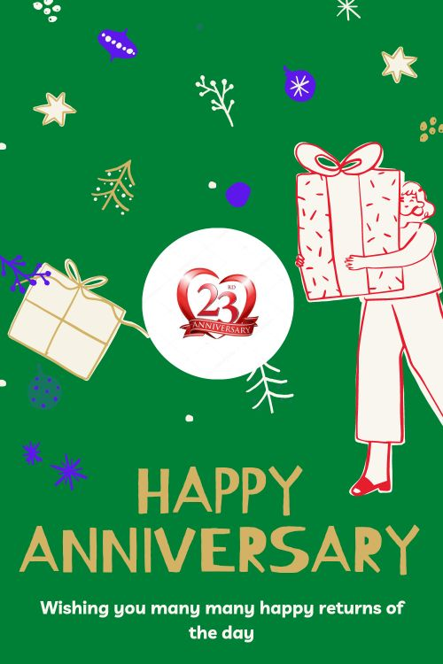 23th Wedding Anniversary Wishes Messages quotes 5