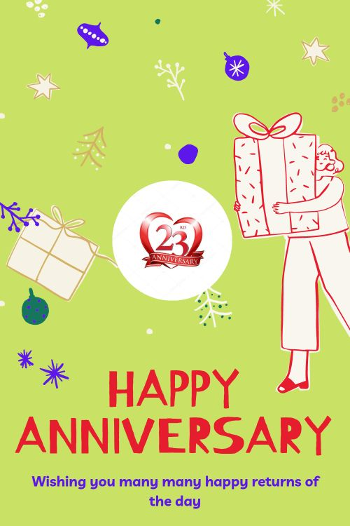 23th Wedding Anniversary Wishes Messages quotes 8
