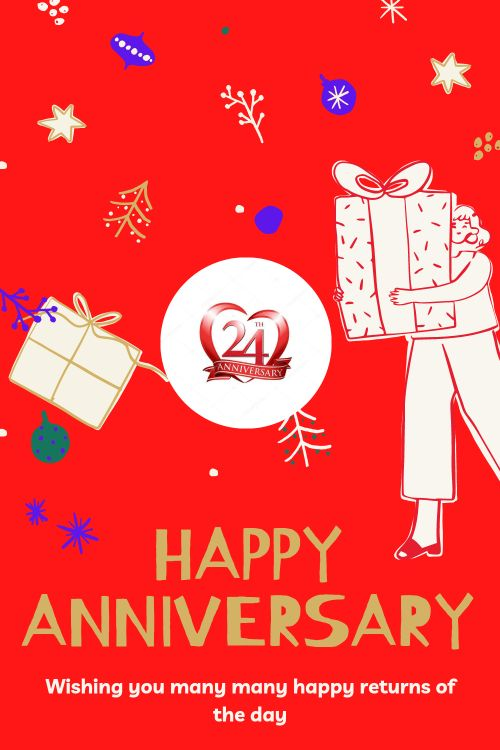 24th Wedding Anniversary Wishes Messages quotes 10