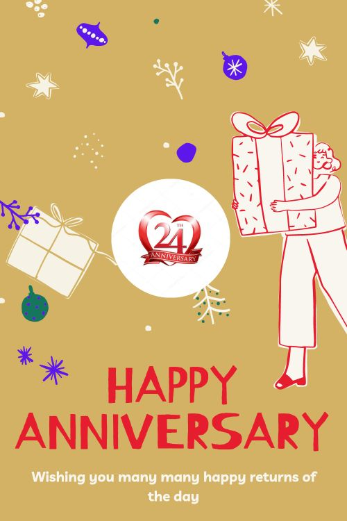 24th Wedding Anniversary Wishes Messages quotes 2
