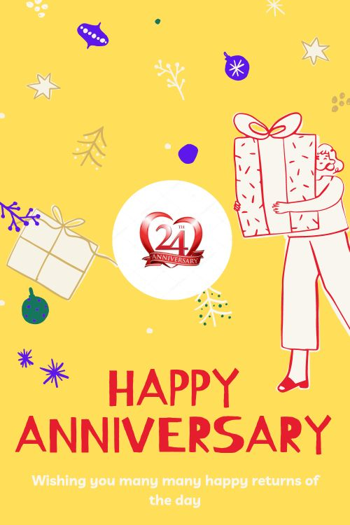24th Wedding Anniversary Wishes Messages quotes 3
