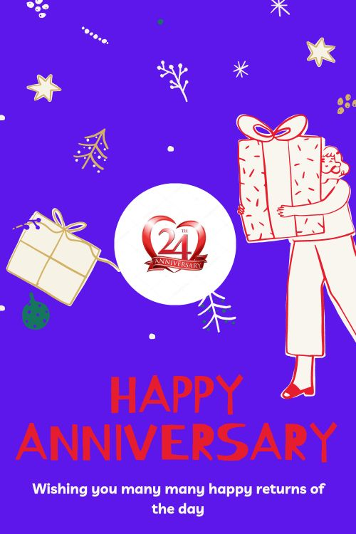 24th Wedding Anniversary Wishes Messages quotes 4