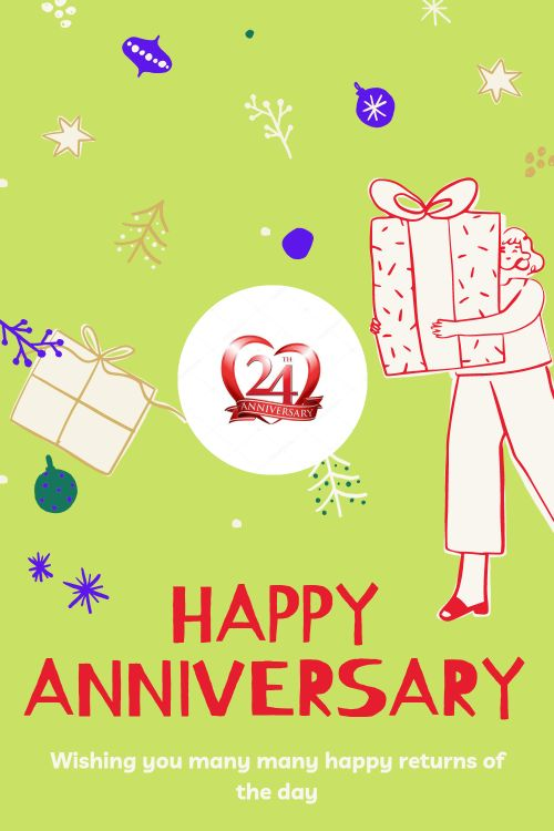 24th Wedding Anniversary Wishes Messages quotes 7