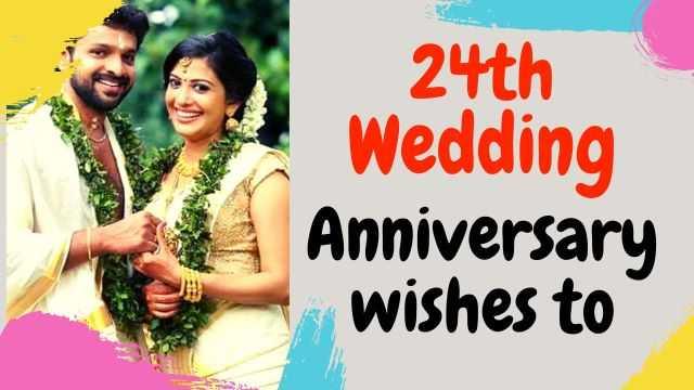 24th Wedding Anniversary Wishes
