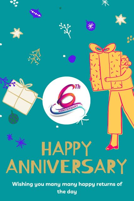 6th Wedding Anniversary Wishes Messages Quotes 2
