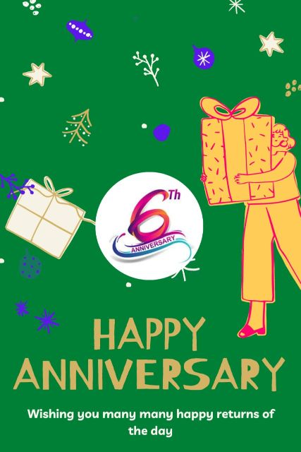 6th Wedding Anniversary Wishes Messages Quotes 3