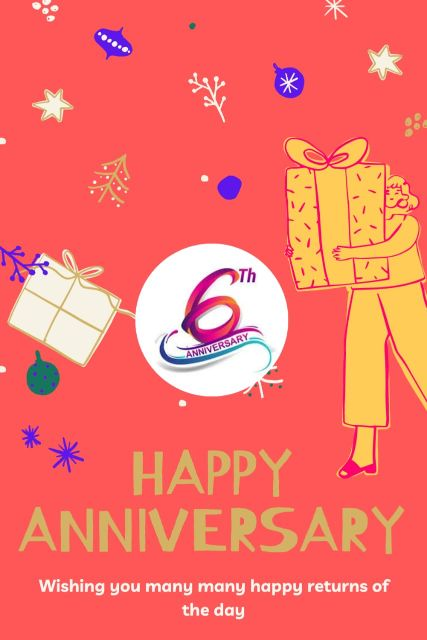 6th Wedding Anniversary Wishes Messages Quotes 4