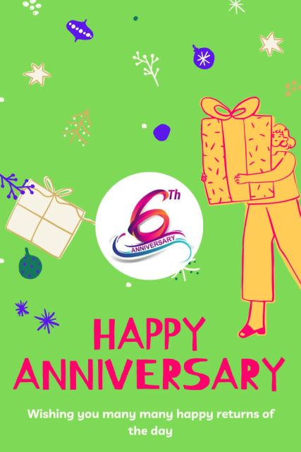 6th Wedding Anniversary Wishes Messages Quotes 5