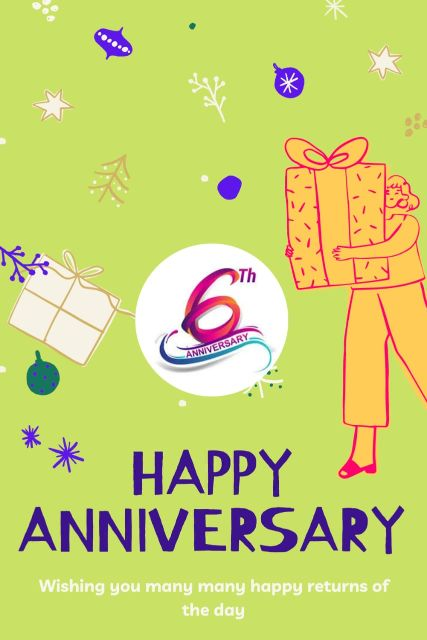 6th Wedding Anniversary Wishes Messages Quotes 8