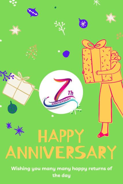 7th Wedding Anniversary Wishes Messages Quotes 7