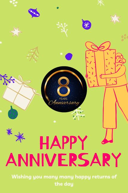8th Wedding Anniversary Wishes Messages Quotes 1