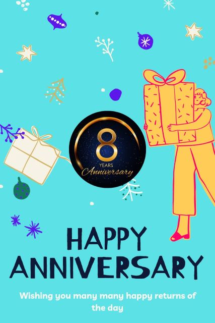 8th Wedding Anniversary Wishes Messages Quotes 10