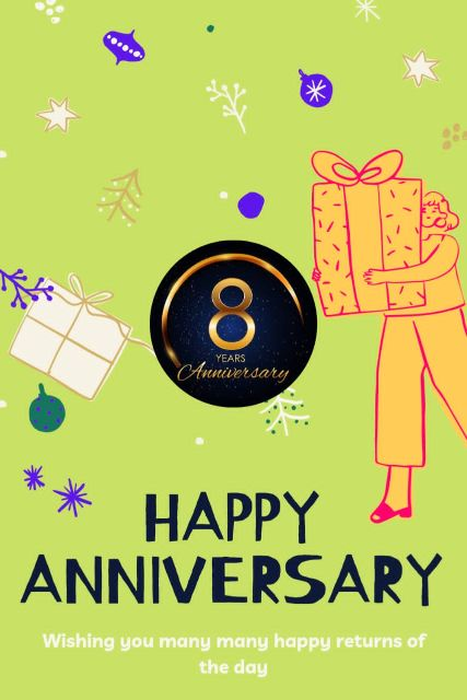 8th Wedding Anniversary Wishes Messages Quotes 11
