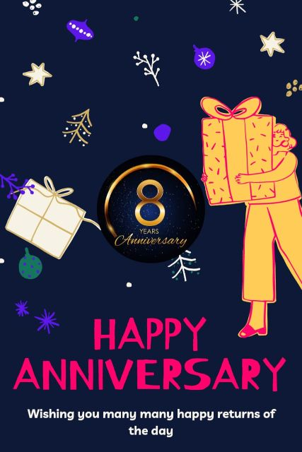 8th Wedding Anniversary Wishes Messages Quotes 2