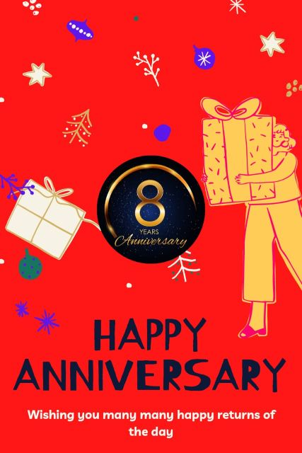 8th Wedding Anniversary Wishes Messages Quotes 3