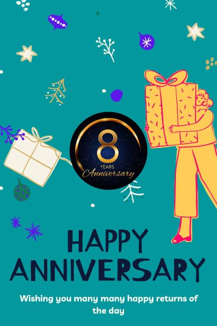 8th Wedding Anniversary Wishes Messages Quotes 4