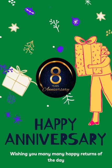 8th Wedding Anniversary Wishes Messages Quotes 5